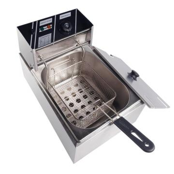 Automatic Commercial Stainless Steel Electric Deep Fryer (WF-101)