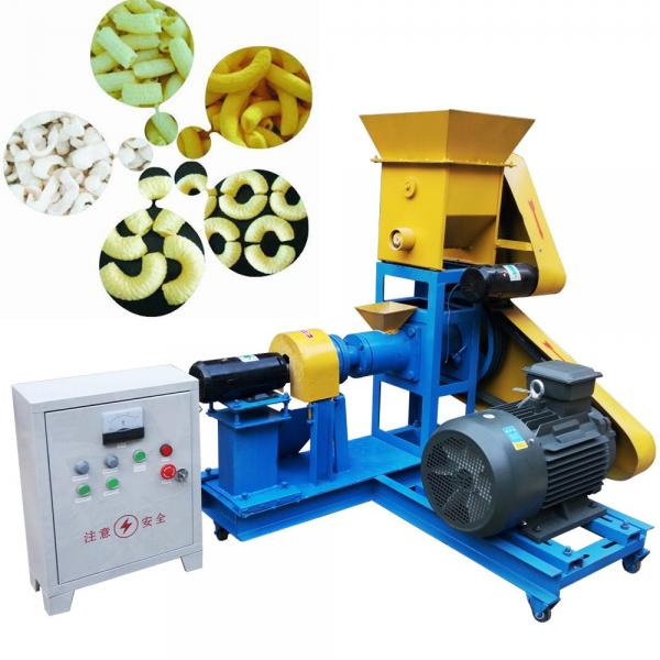 Fried 2D 3D Snack Pellet Food Extrusion Machinery #1 image