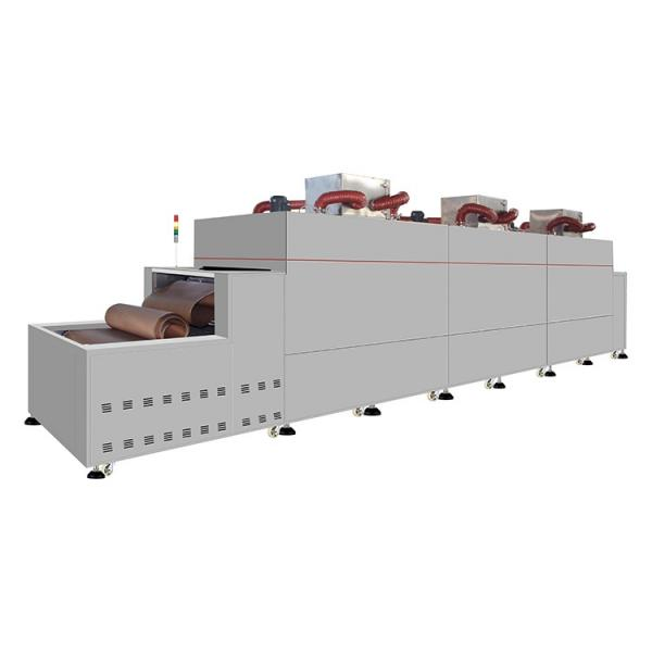 DF/HP-6R industrial food dryer machine for herb drying machine conveyor belt hot air dryer fruit drying production line #2 image